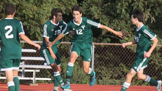 Yorktown soccer won 1-0 at Somers Sept. 25, 2015.
