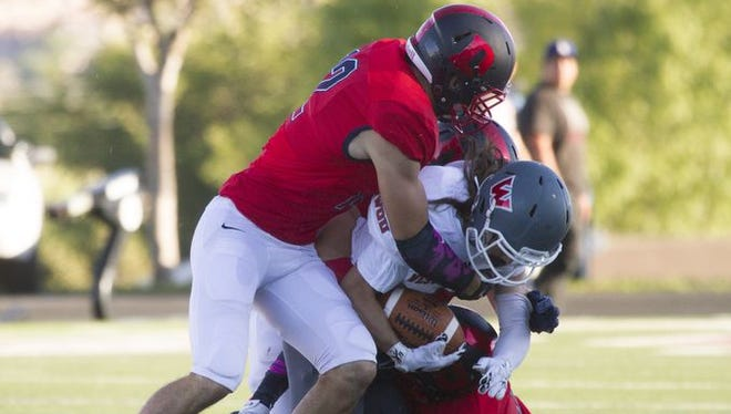 After a bye week, Dixie State returns back to GNAC play against South Dakota School of Mines on Saturday. This will be the third game in a row the Red Storm are on the road.
