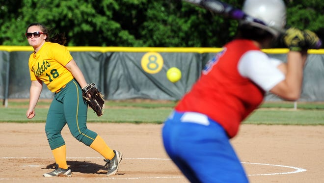 Reynolds senior Josie Harris has committed to play college softball for Montreat.