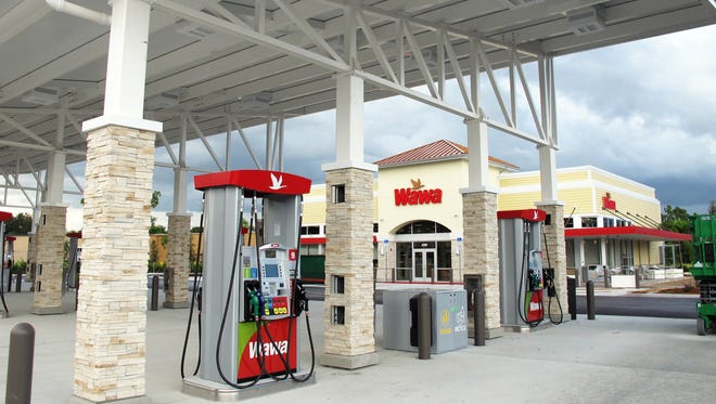 Collier County's first Wawa convenience store and gas station will open Aug. 31 on the northwest corner of Radio and Livingston roads in East Naples.