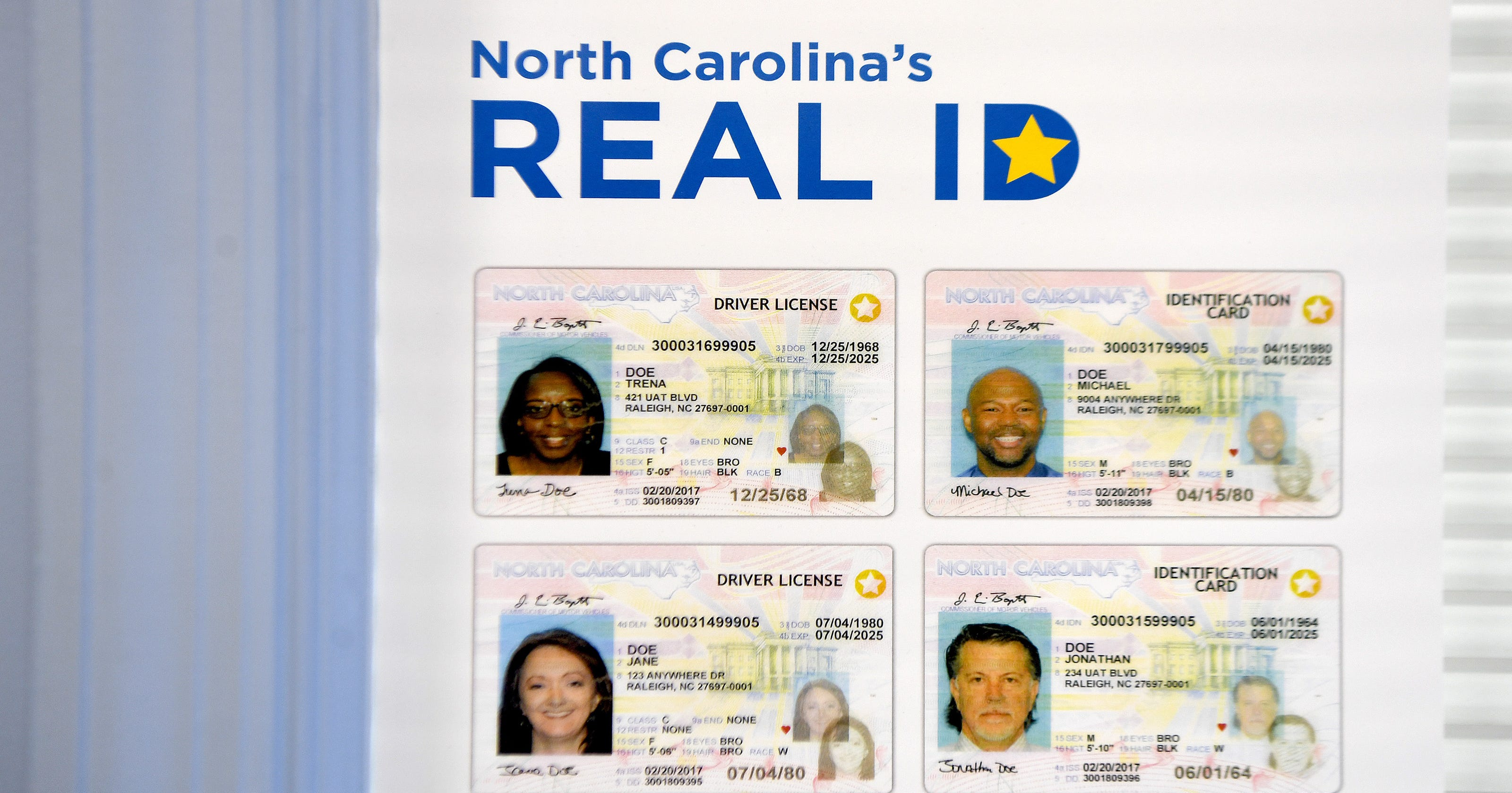 cost of drivers license renewal in nc
