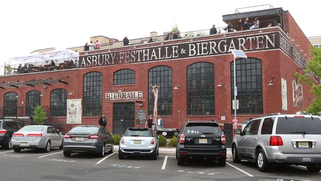 The Asbury Festhalle and Biergarten.