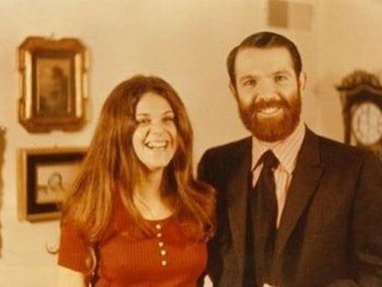 Gilda Radner with her older brother, Michael Radner,