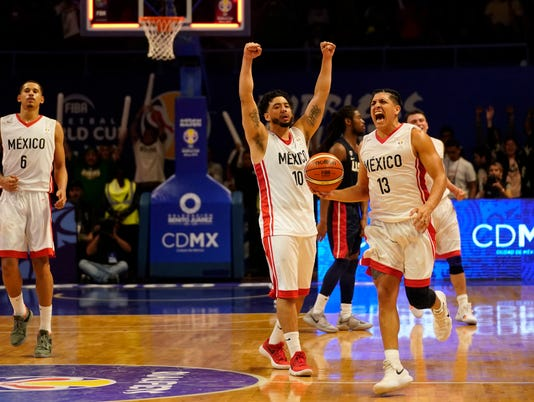 Mexico shocks USA basketball in World Cup Qualifying