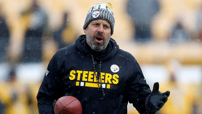 After six seasons, Todd Haley is no longer the offensive coordinator with the Pittsburgh Steelers. AP FILE PHOTO