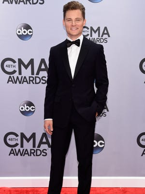 NASHVILLE, TN -  Frankie Ballard attends the 48th annual CMA Awards at the Bridgestone Arena on November 5, 2014 in Nashville, Tennessee.  (Photo by Larry Busacca/Getty Images)