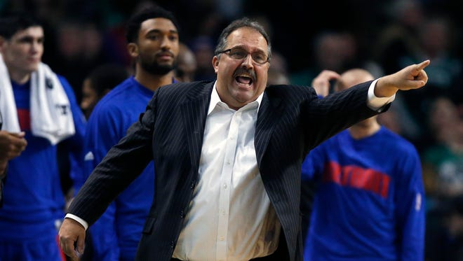 """Stan Van Gundy, who has a 426-278 coaching record in 10 seasons, admits he's tough on players. """"My relationship with them is to get a result. That's what we're all hired to do."""""""