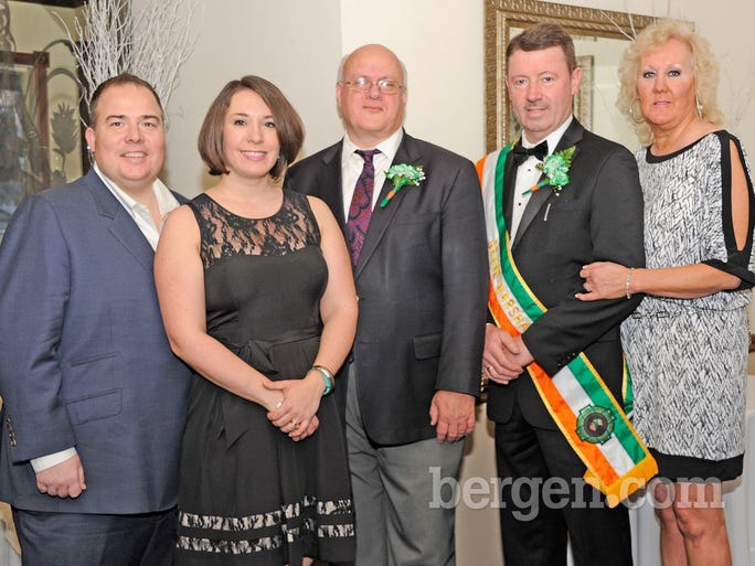 Tom O'Reilly, Deirdre O'Reilly, Kevin Duffy, John O'Shea and Sally Ann O'Shea (Photo by Hildi Borkowski)