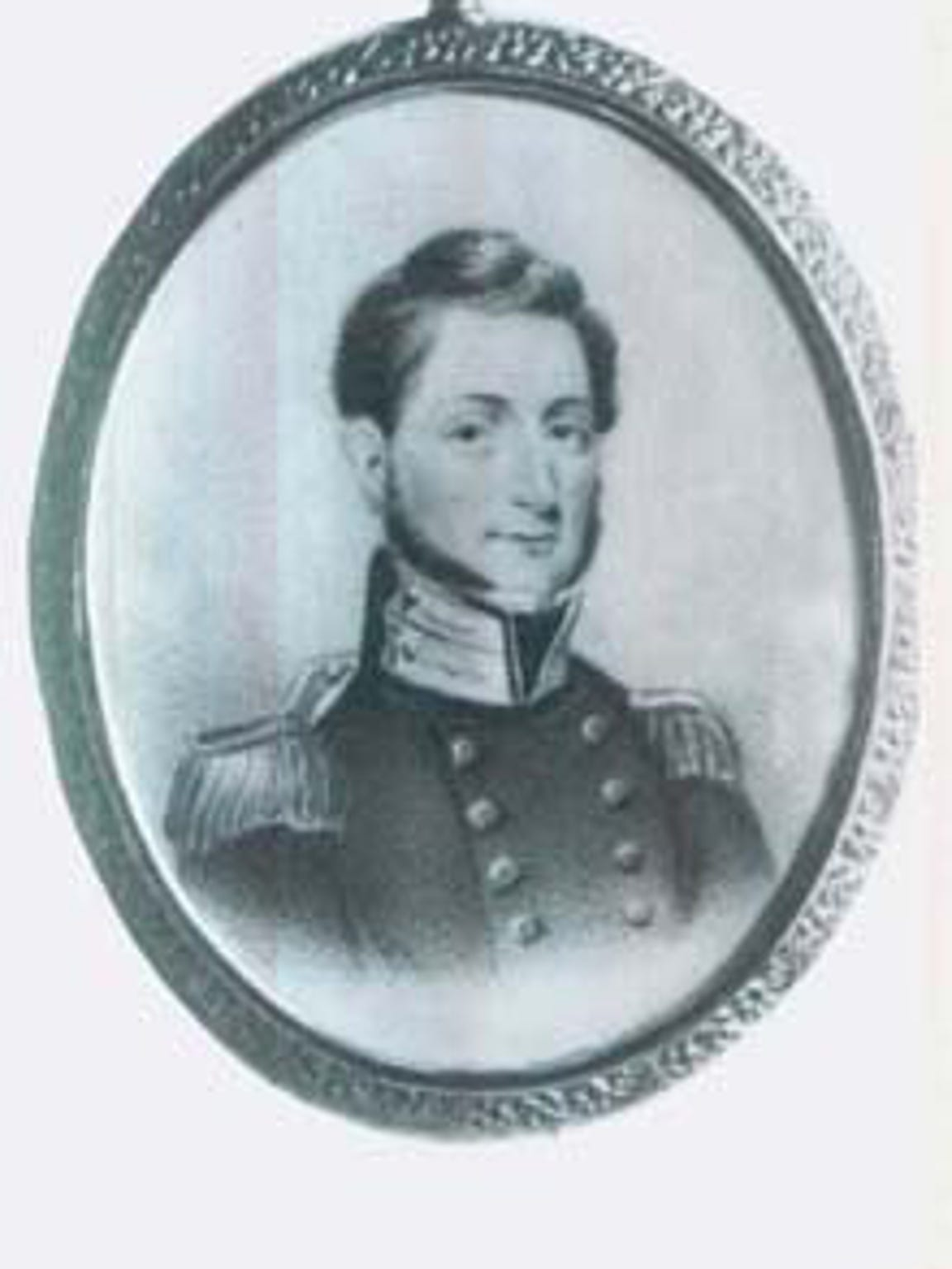 Forbes Britton, a young second lieutenant in the 7th Regiment of Infantry, settled in Corpus Christi and became a wealthy merchant and state senator. He died Feb. 14, 1861, on the eve of secession.