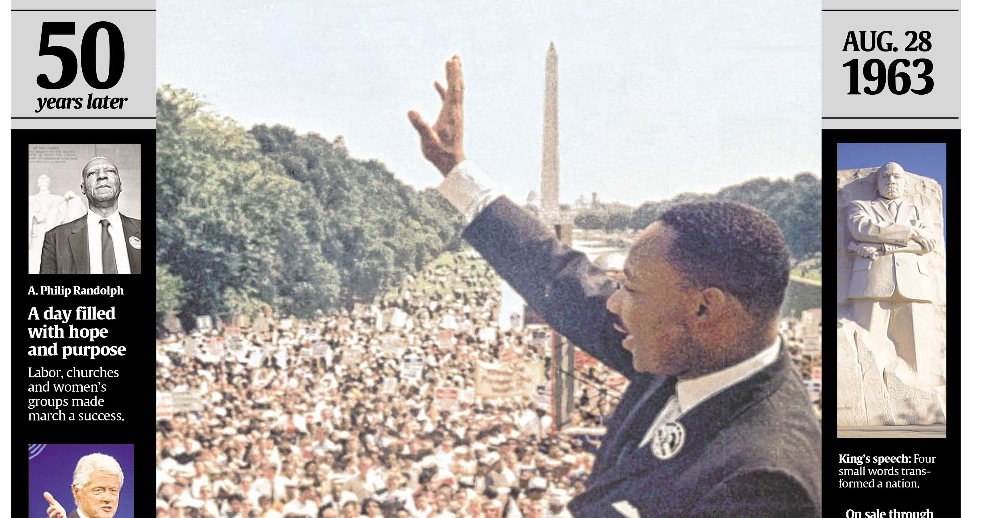 What you didn't know about King's 'Dream' speech