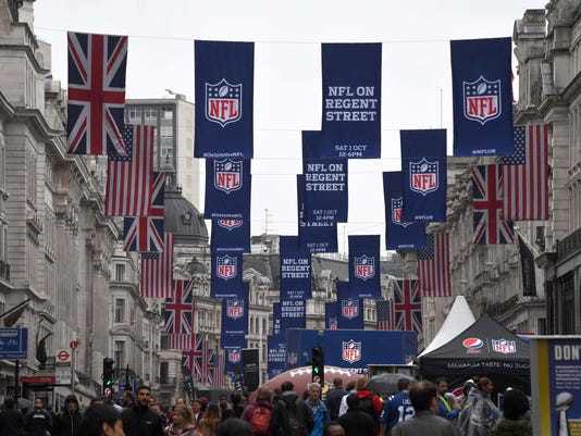 NFL: International Series-NFL on Regent Street