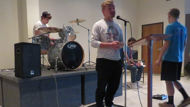 The Outsiders Band will perform at The Rally May 23 at Trinity United Methodist Church.