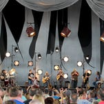 "The Dave Matthews Band performs ""Two Step"" at the Klipsch Music Center, Friday, June 20, 2014, in Noblesville."