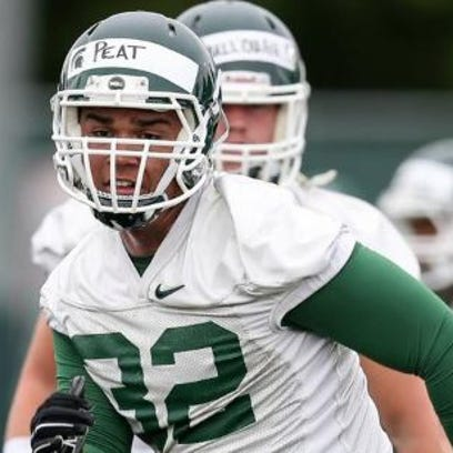 Cassius Peat, who left Michigan State in August, says
