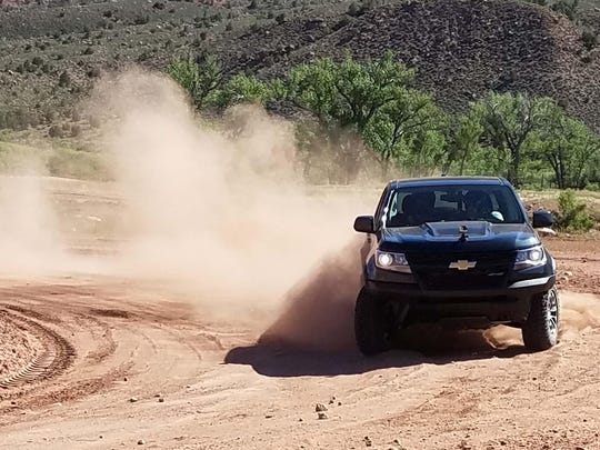 The ZR2 has earned raves from auto critics for its versatility in handling dirt and asphalt with equal aplomb.