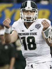 Todd McShay's mock draft also has Michigan State quarterback Connor Cook going No. 2 overall to the Cleveland Browns.