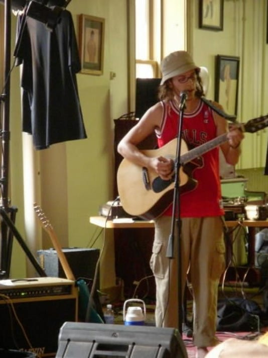 Andrew Fake, aka Mr. Fake, is an indie-folk artist from Red Lion who features short films during his live shows.