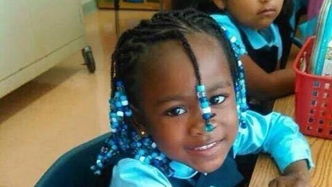 Makayla Manners, 4, of Yonkers, died after being found with a gunshot wound to the face in her mother's apartment on Memorial Day, 2015. According to a new state Attorney General report, her Yonkers neighborhood had the most 'crime gun' seizures.