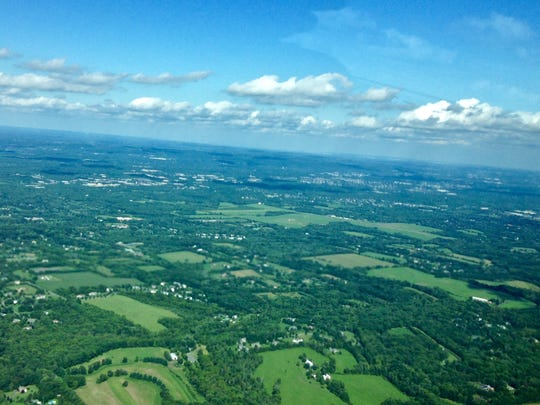 The lush greenery of Central Jersey.