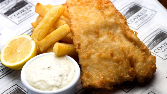 File picture - fish and chips.