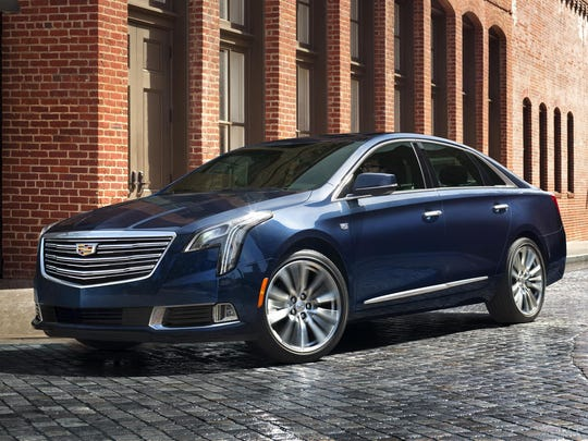 The 2018 Cadillac XTS luxury sedan is elevated with