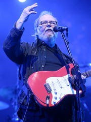 Walter Becker of Steely Dan performs onstage during