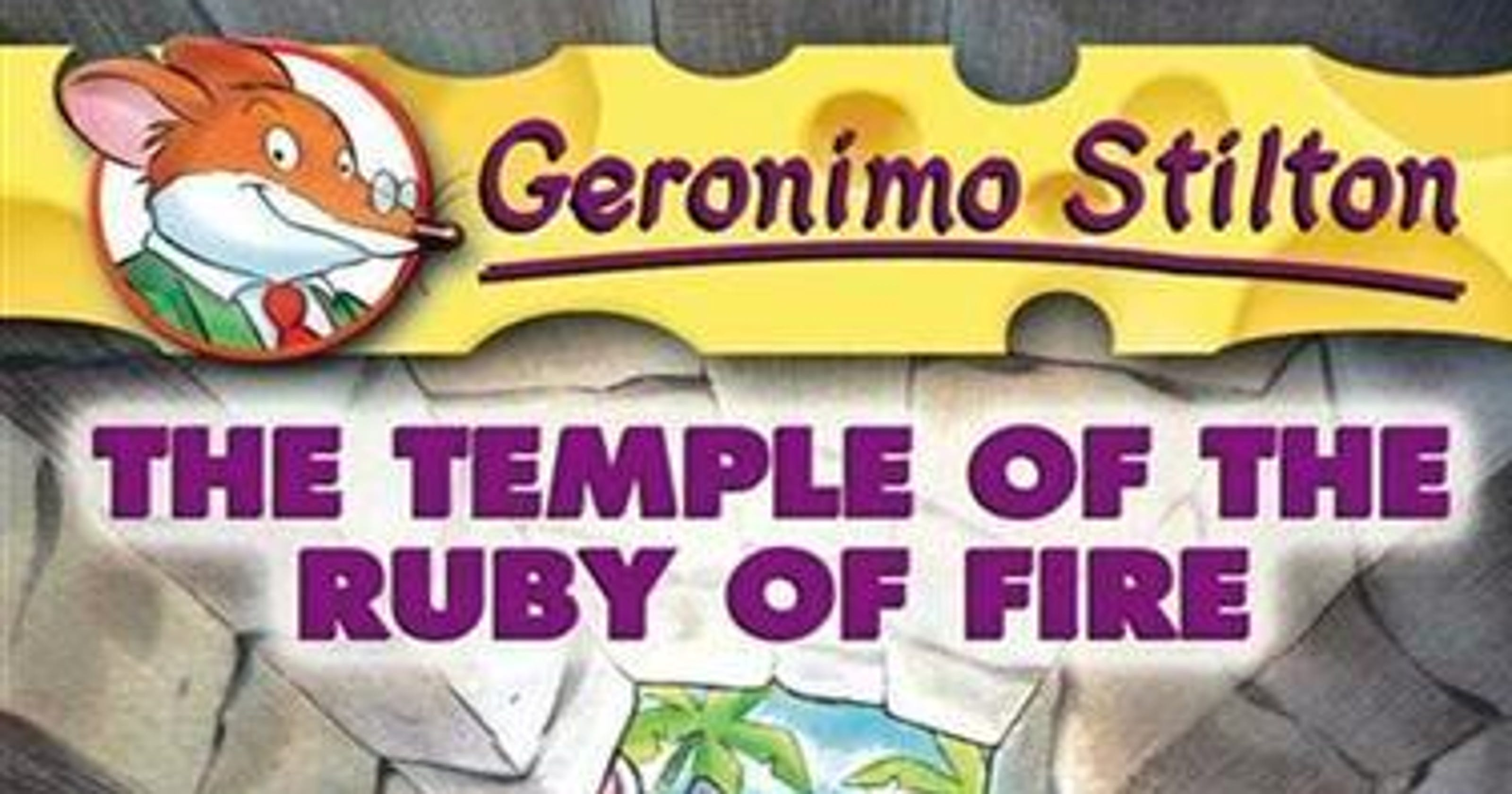 'Temple of the Ruby of Fire' a fun-filled read