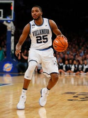 Villanova Wildcats guard Mikal Bridges.