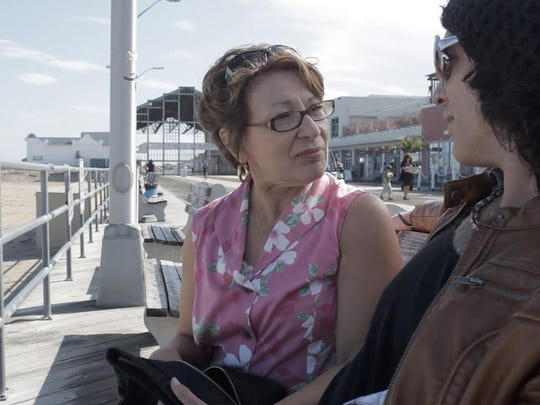 """Shot and set in Asbury Park, """"Let Me Down Hard"""" stars veteran Jersey Shore rocker Keith Roth in his film debut as a fading rocker star, and Margo Crupi as his forgiving mom."""