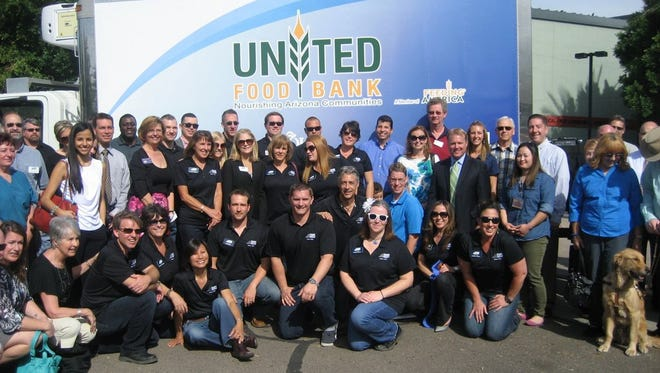 Tempe Leadership Class 29 raised $60,000, coupled that with a $30,000 Walmart grant and purchased two refrigerated food trucks for United Food Bank.