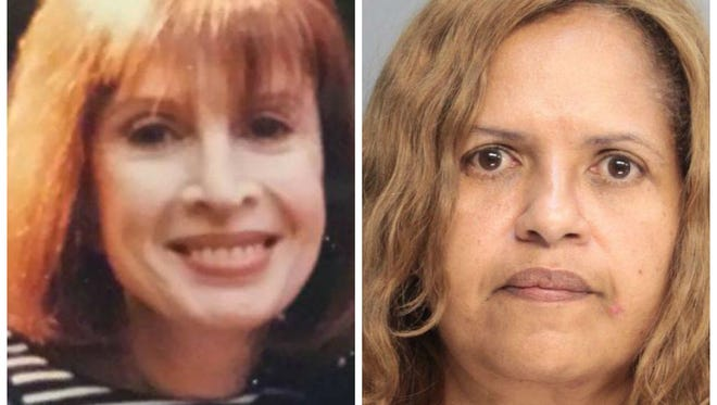 Diana Nadell, right, is charged with killing her mother-in-law, Peggy Nadell, left, of Valley Cottage in January 2014.