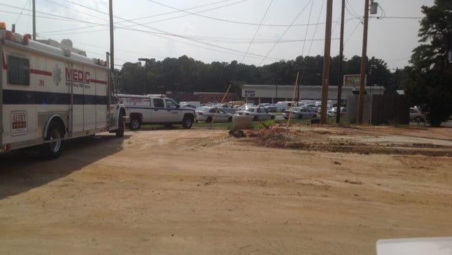 NBC Charlotte's crew is on the scene of a breaking news situation in which officials tell us an officer has been shot.