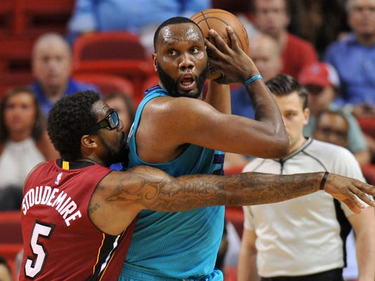 NBA: Charlotte Hornets at Miami Heat