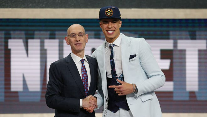 Michael Porter Jr. was selected 14th by Denver.