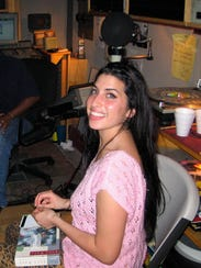 In this image released by A24 Films, singer Amy Winehouse