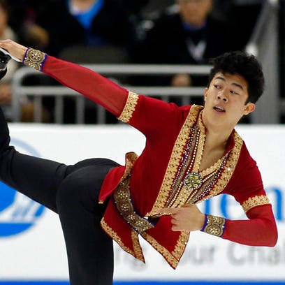 U.S. champion Nathan Chen emerges as Olympic medal contender