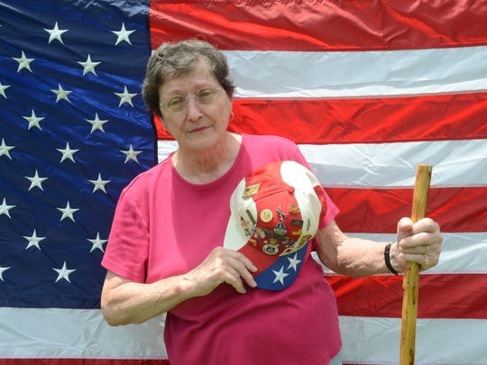 Gerri B. Deptula, a retired Air Force lieutenant colonel who lives near Woodworth, urges parents to teach their children to respect the American flag.