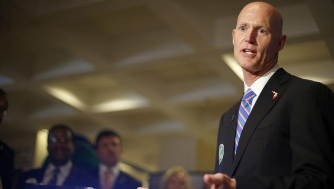 Gov. Rick Scott proposed a 2.5 percent increase in funds spent on public schools.