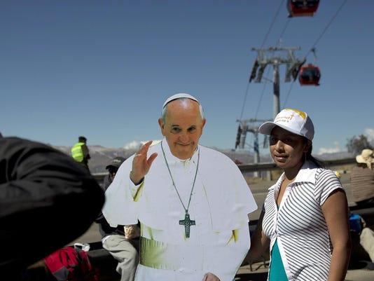 Bolivia Pope South Am_Powe