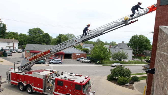 The property tax increase is still only a portion of the $800,000 city officials hope to raise to hire four additional police officers and five additional firefighters and give the city's non-union employees a 3 percent raise.