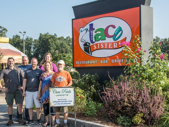 Lafayette Garden Club presented Taco Sisters at 3902