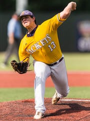 Byrd's Jonathan Fincher could develop into a starting pitcher at Louisiana Tech.