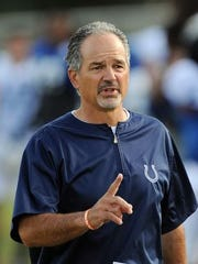 Colts coach Chuck Pagano was diagnosed with leukemia in 2012.