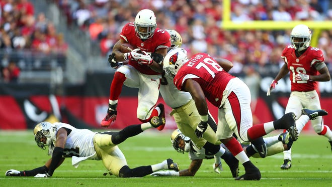 There appears to be no stopping Cardinals RB David Johnson.
