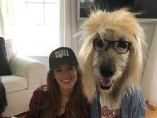 No way. Way! Dog, ex-Miss Del. USA go viral