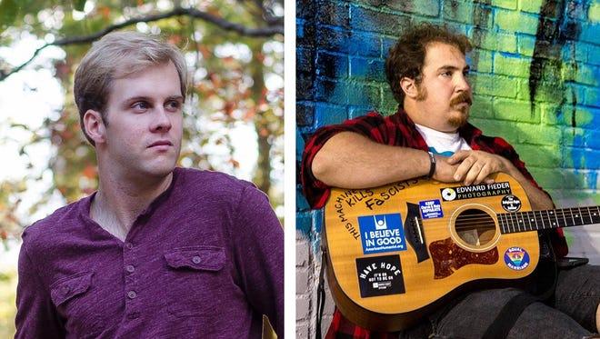 Montgomery singer/songwriters Wyatt Edmondson, left, and Nelson Jancaterino (AKA The Last Thing You Reember).