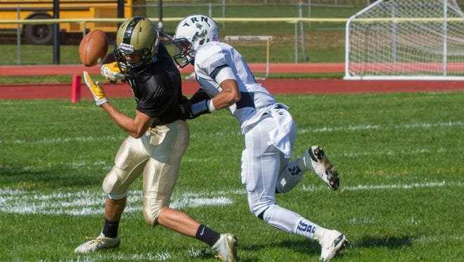 Toms River North vs Souther Regional Football in Staffford Nj on October 25, 2014. Peter Ackerman/Staff Photographer