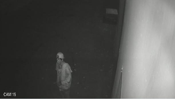 Sparks police are looking for a suspect allegedly involved in a robbery.