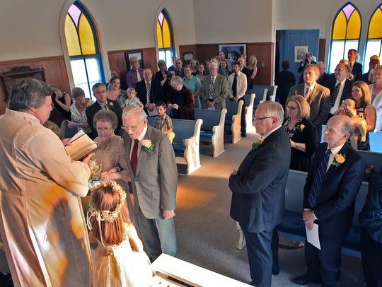 Maple Grove United Methodist Church is 700-square-feet.