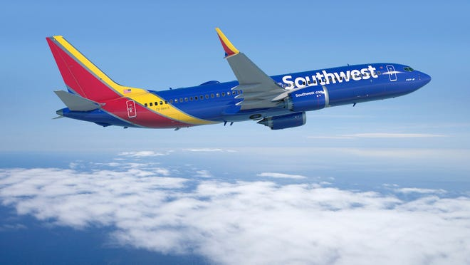 Southwest Airlines plane - file photo